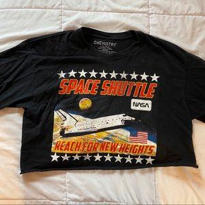 Space Shuttle Crop Top